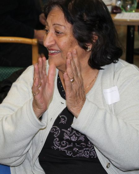An attendee at the 'Making Redbridge Dementia Friendly with Music' event