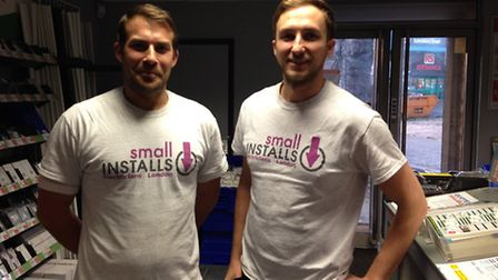 Tony and Kevin at Small Installs are offering their technical skills to a deserving person for a day