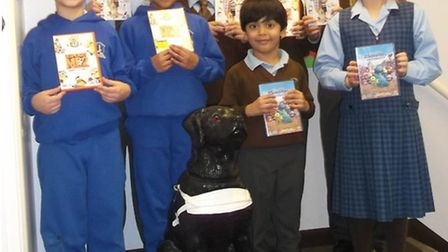 Children at Snaresbrook Preparatory School, South Woodford, raised money for Guide Dogs UK.