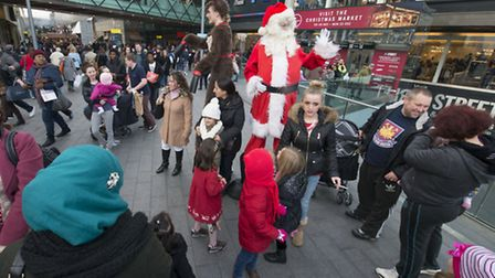 Shoppers flocked to Westfield Stratford City on 'Super Saturday'
