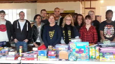Various volunteers from schools, Community Links and Family and Friends