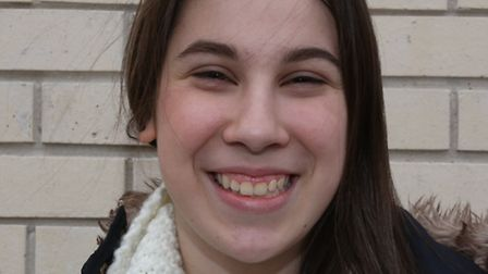 Student Mia Sands has been nominated for the Recorder/Redbridge Rotary Club Young Citizen Award