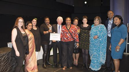 Staff from East Ham Care Centre received a special commendation at the recent awards