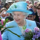 The Queen visited Valentines Park last year