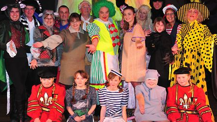 COLOURFUL SHOW: The Kessingland Players have performed their latest pantomime, Dick Whittington.