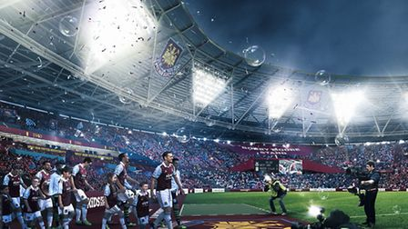 A new CGI shows what the transformed Olympic Stadium will look like Picture:LLDC