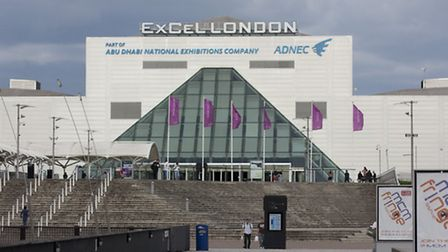 The ExCel Centre in Newham where the Global Peace and Unity Festival will be held