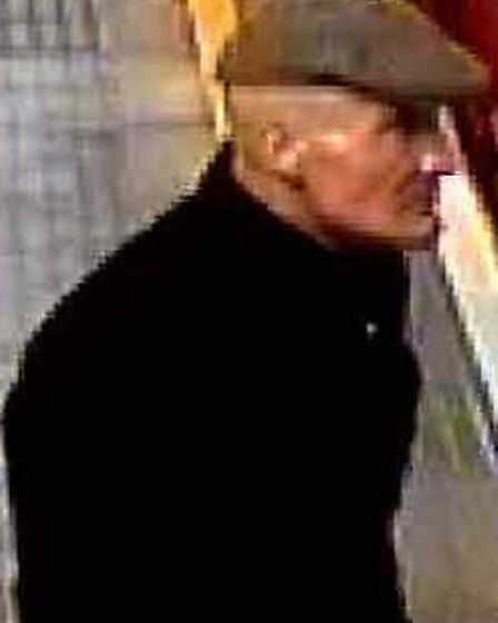 Anyone who recognises this man is asked to contact British Transport Police or Crimestoppers