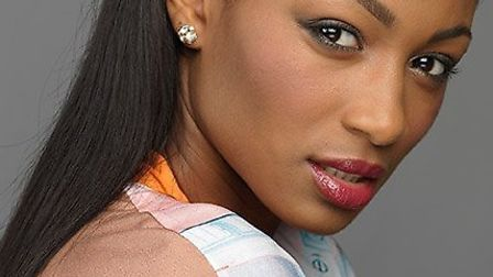 Nadine Mendes has made it to the finals of The Face TV show Picture: BSkyB