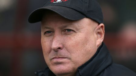 Leyton Orient manager Russell Slade. Photo by Charlie Crowhurst/Getty Images