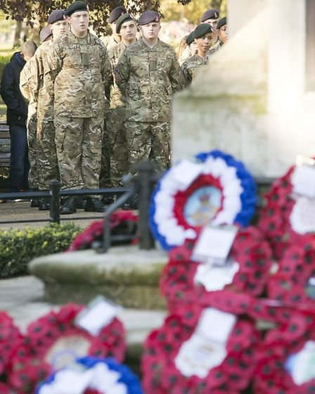 Mike has nothing but praise for the Royal British Legion which helps thousands of former servicemen