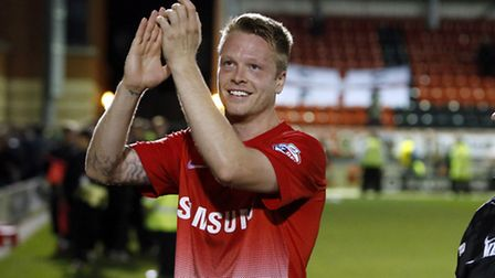 Orient captain Nathan Clarke is a doubt for the game against Preston (Pic: Simon O'Connor)