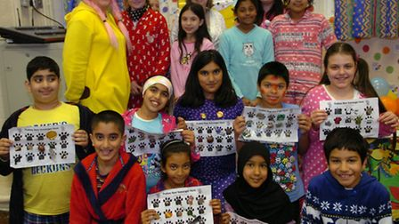 Children in Need at Clevelands Primary School.