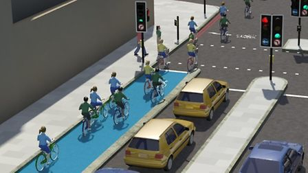 The new plans for cycling junctions