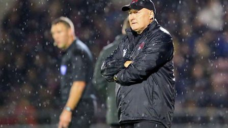 Orient manager Russell Slade. Pic by Simon O'Connor