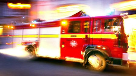 More than 20 firefighters tackled the fire in Orpington.
