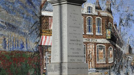 St Marks Memorial, North Woolwich
