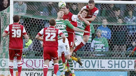 Yeovil beat Orient on New Year's Day last year. Pic by Simon O'Connor