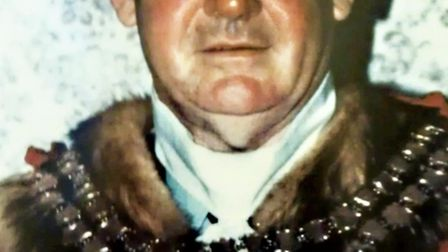Former ceremonial mayor Fred York who died on Sunday