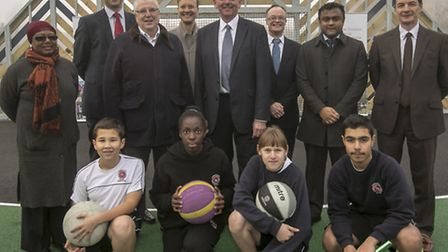 Plaistow has a new sporting facility after a piece of derelict land was transformed into a multi-use
