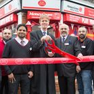 MP Stephen Timms at opening of Barking Road Post Office