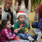 Nursery children visited Chadwell Heath Residential Care Home to sing Christmas Carols