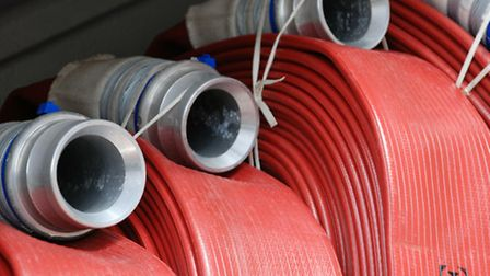 Firefighters attended a chimney fire in Somerleyton