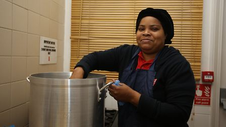The Winter night shelter is opening at the Salvation Army on Clements Road in Ilford. Marie Lun