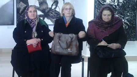 Mothers and wives of Srebrenica