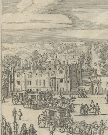 Gidea Hall - known as Giddy Hall -in 1639