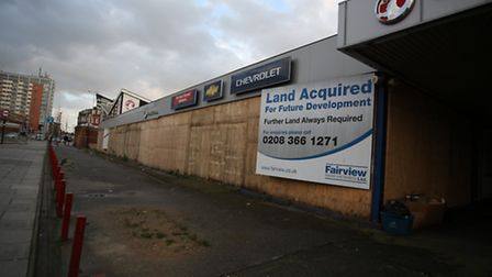 The plan is to replace Crown Motors in Eastern Avenue with flats