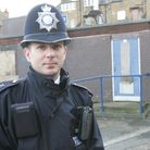 PC Anton Brown who leads patrols to gay cruising spots around Redbridge and gives advice to people o