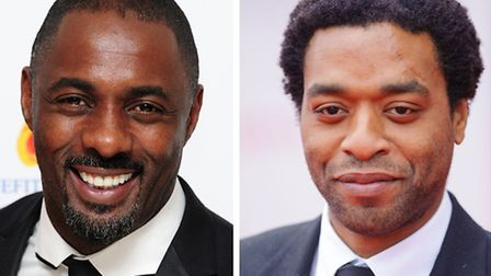 Idris Elba and Chiwetel Ejiofor who have both been nominated for BAFTA awards