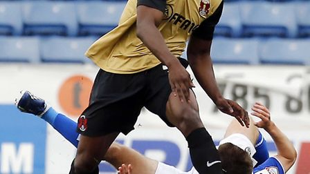 Marvin Bartley has extended his loan at Leyton Orient. Pic by Simon O'Connor