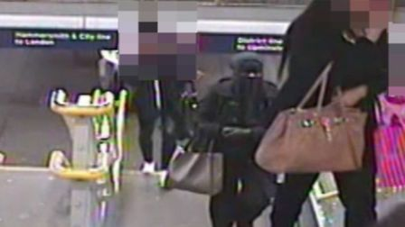 CCTV footage of the suspect Photo: Met police