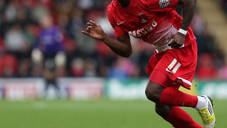 Moses Odubajo of Leyton Orient. Photo by Charlie Crowhurst/Getty Images