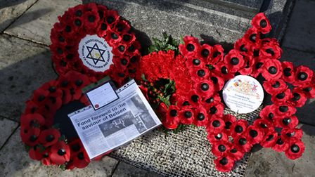 Holocaust Memorial Day in Valentines Park in Ilford.