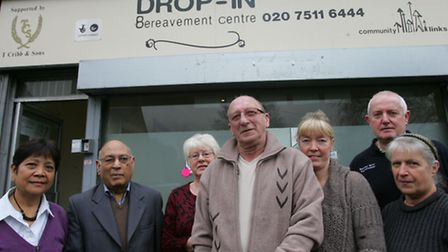 Users at the bereavement centre are still waiting for the cheque as promised from Waitrose