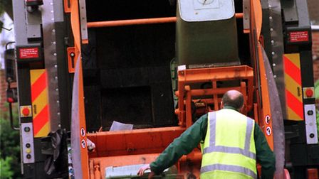 Bin collections have resumed in Suffolk Coastal and Waveney districts