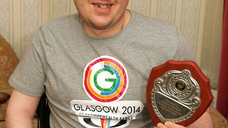 Callum Hanslip has been picked as a volunteer for the Commonwealth Games in Glasgow.