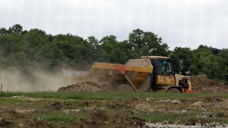 Reinstatement work has now started on the open fields in Hainault Forest Country Park.
