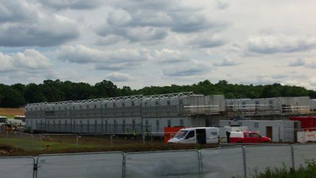 Construction of Snoozebox Hotel in Hainault Forest Country Park