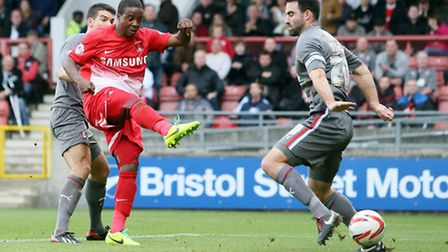 Kevin Lisbie scored the winner when the sides met back in October. Simon O'Connor