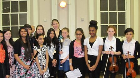 Performers at the Redbridge Music School concer.