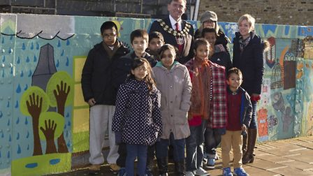Newham Mayor Sir Robin Wales praised everyone who worked together to transform the bridge