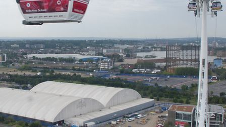 The Emirates Air Line is not taking as much money as expected
