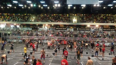 The Battle of London fitness event which caused the damage.