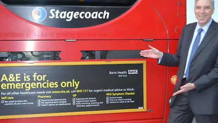 """Dr Steve Ryan, Barts Health NHS Trust Medical Director, is backing the """"A&E is for emergencies only"""""""