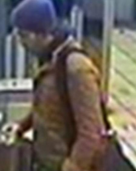 He was seen carrying a black holdall