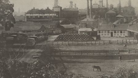 Romford Brewery in the early 20th century [Picture: Havering Local Studies]